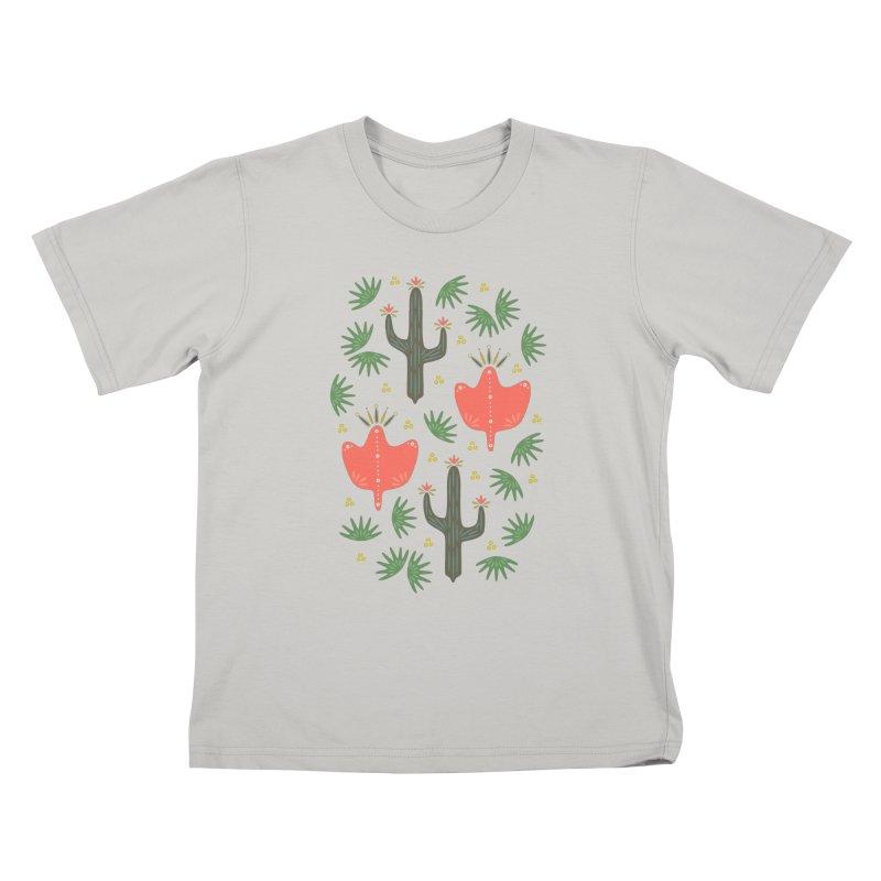 Mexican Spring Kids T-shirt by Kira Seiler