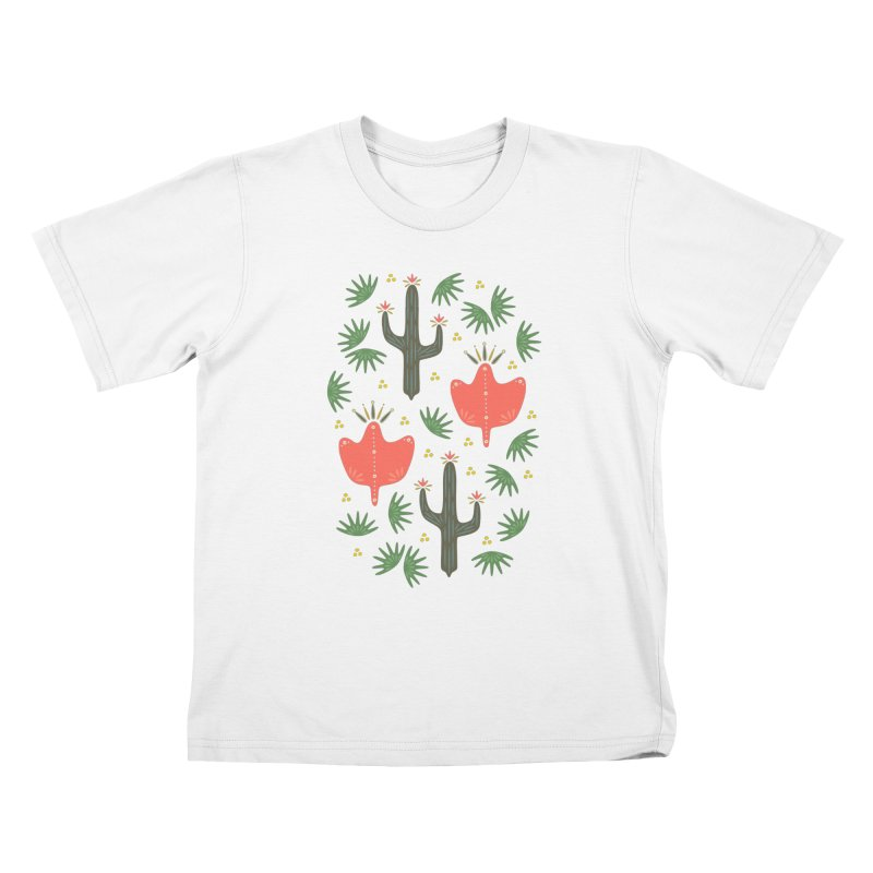 Mexican Spring Kids T-Shirt by Kira Seiler