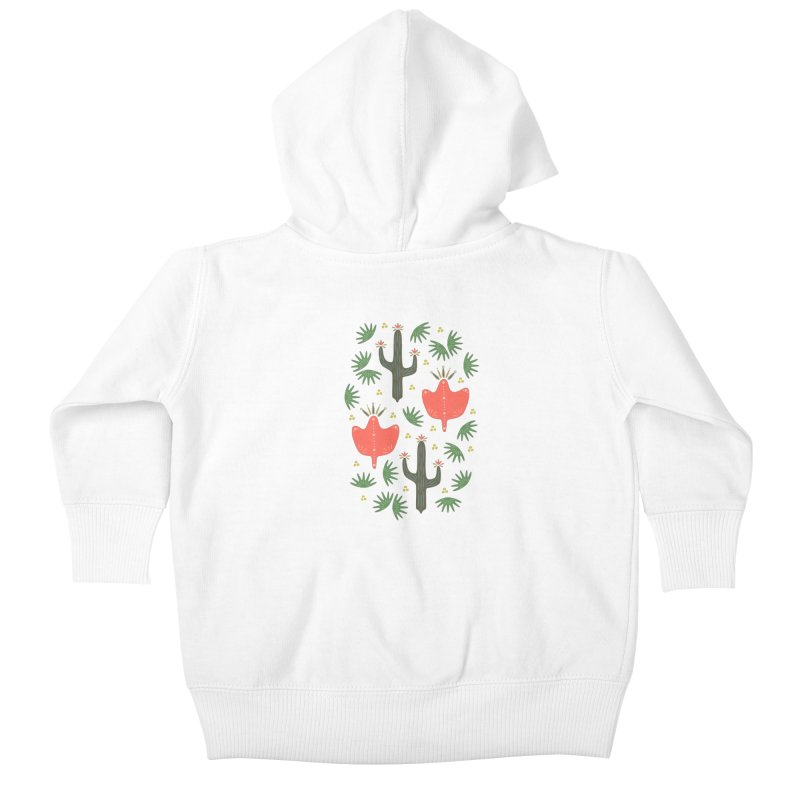 Mexican Spring Kids Baby Zip-Up Hoody by Kira Seiler