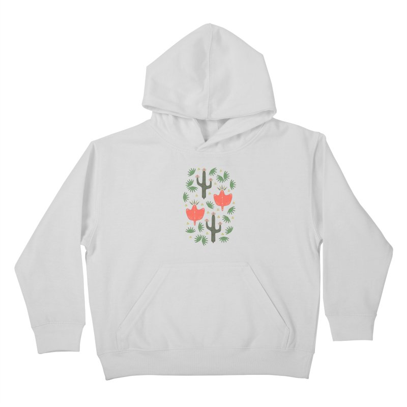 Mexican Spring Kids Pullover Hoody by Kira Seiler