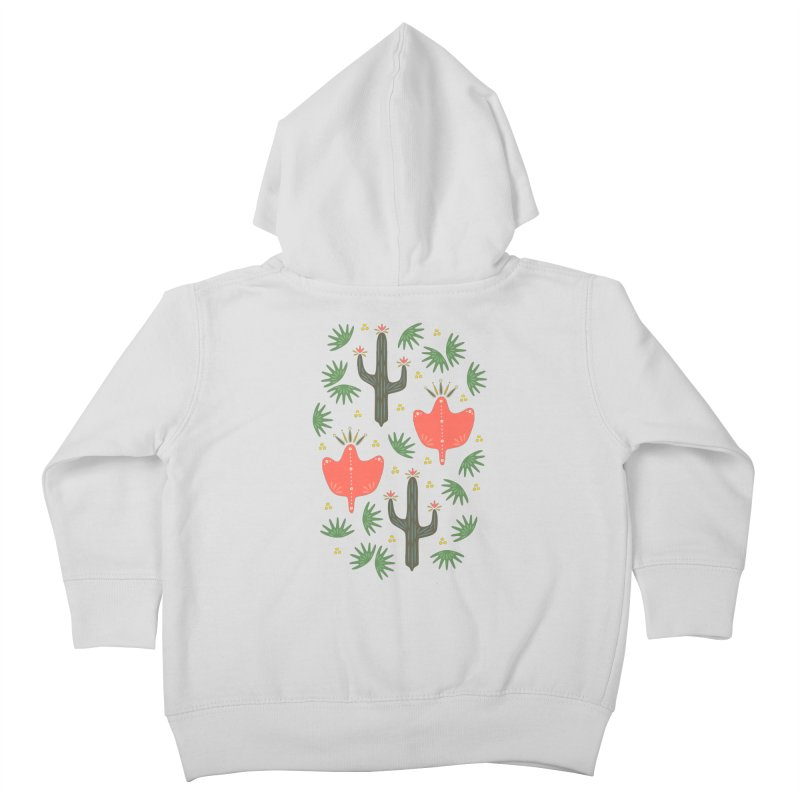 Mexican Spring Kids Toddler Zip-Up Hoody by Kira Seiler