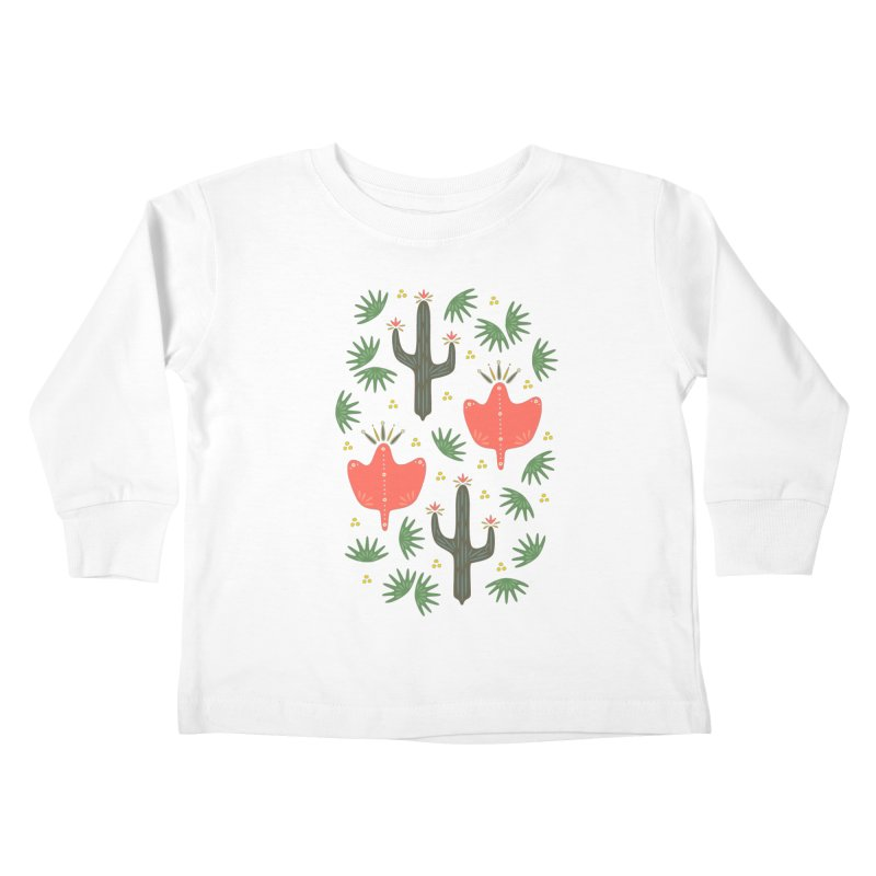 Mexican Spring Kids Toddler Longsleeve T-Shirt by Kira Seiler