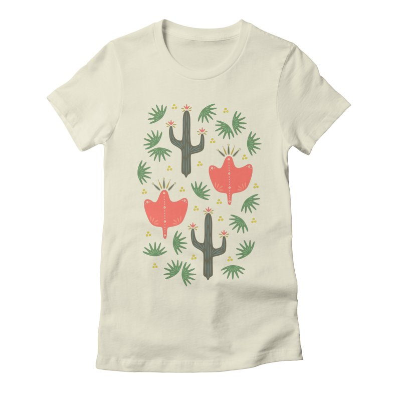 Mexican Spring Women's Fitted T-Shirt by Kira Seiler