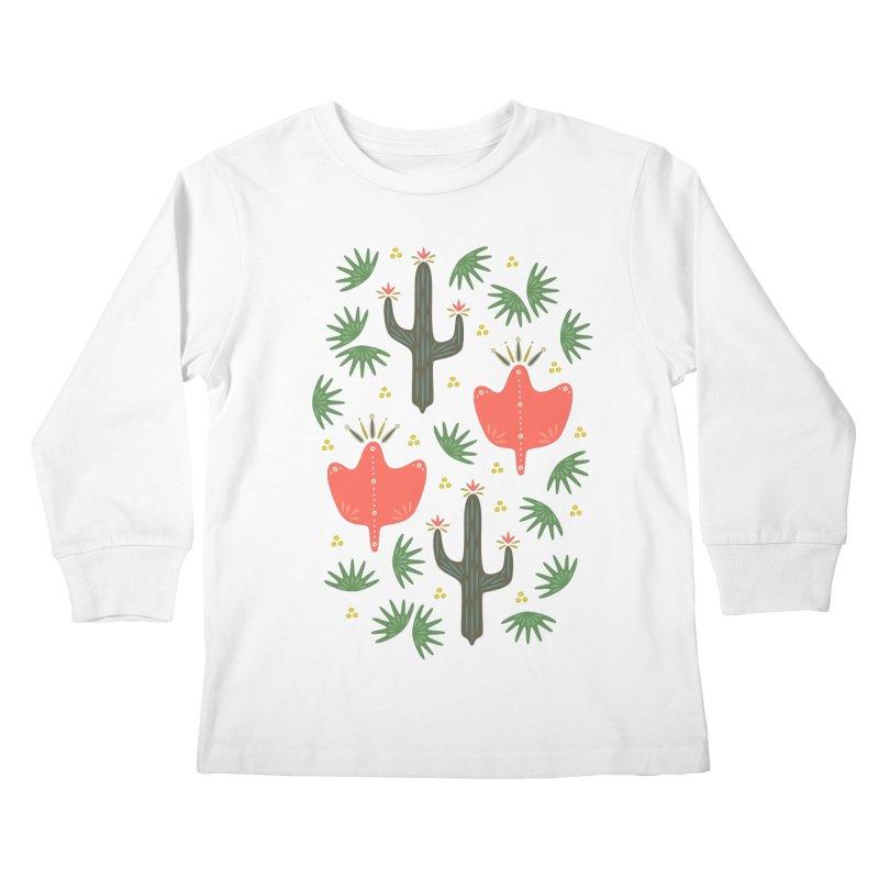 Mexican Spring Kids Longsleeve T-Shirt by Kira Seiler