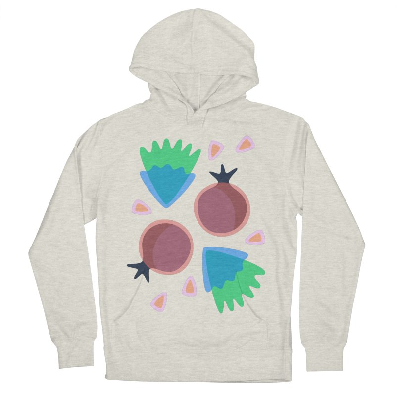 Pomegranate Men's Pullover Hoody by Kira Seiler