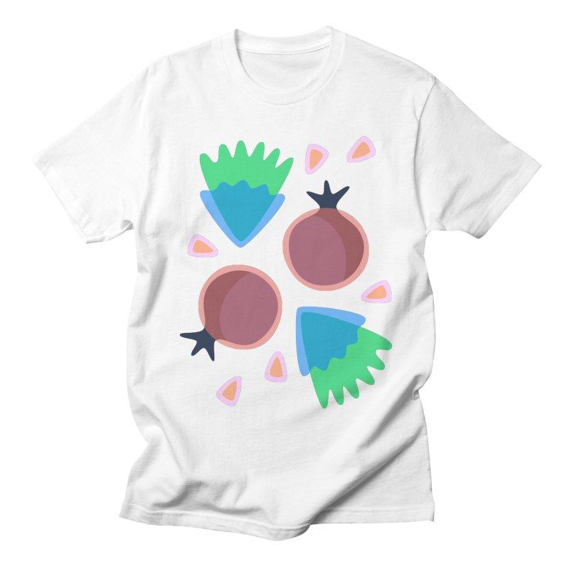 Pomegranate Men's T-Shirt by Kira Seiler