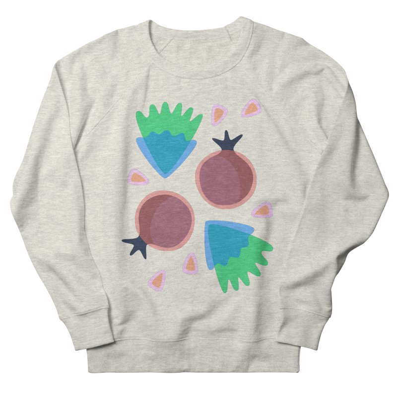 Pomegranate Men's Sweatshirt by Kira Seiler