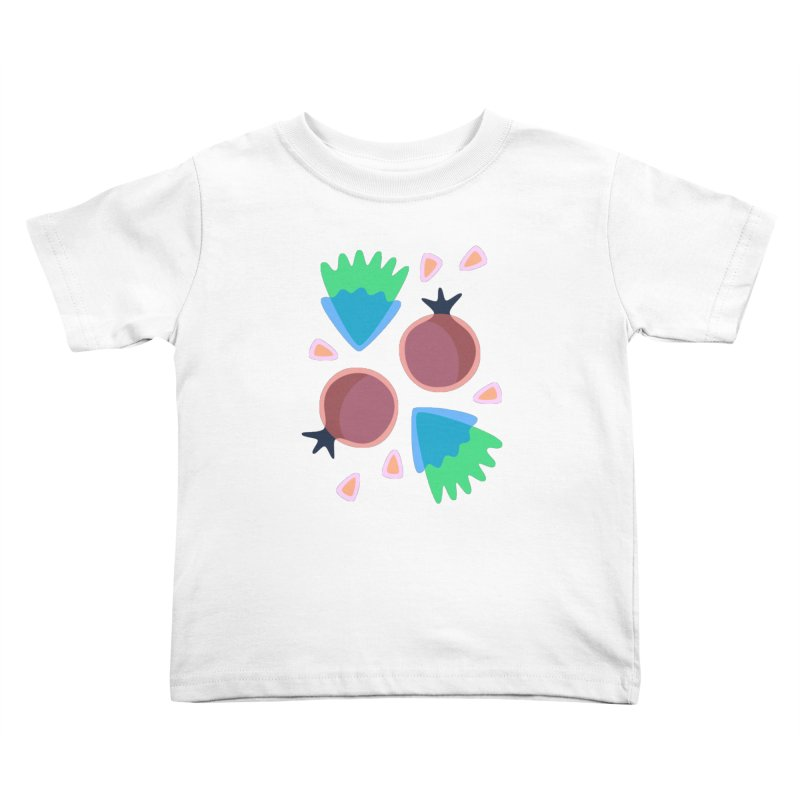 Pomegranate Kids Toddler T-Shirt by Kira Seiler