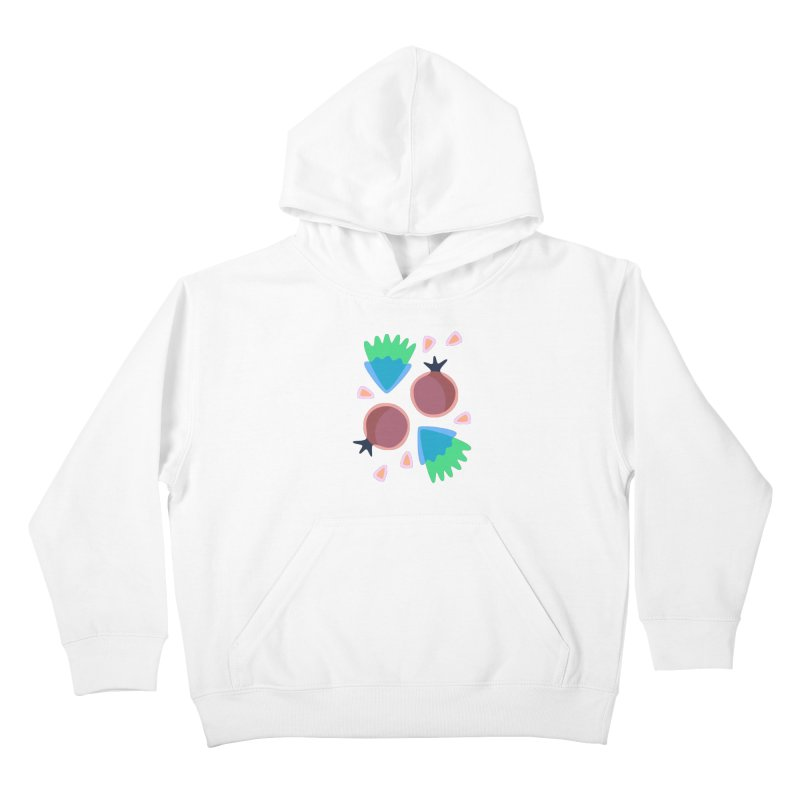 Pomegranate Kids Pullover Hoody by Kira Seiler