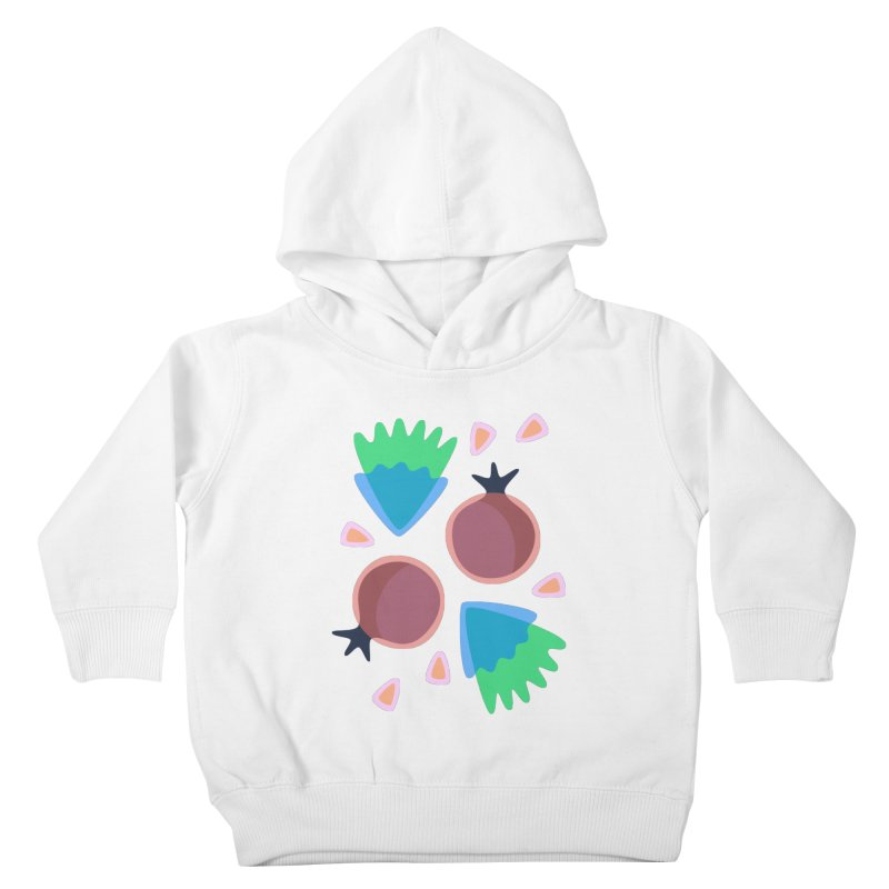 Pomegranate Kids Toddler Pullover Hoody by Kira Seiler