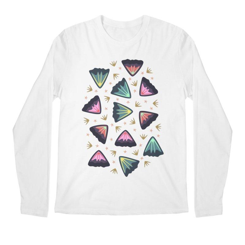 Bold Petals Men's Longsleeve T-Shirt by Kira Seiler