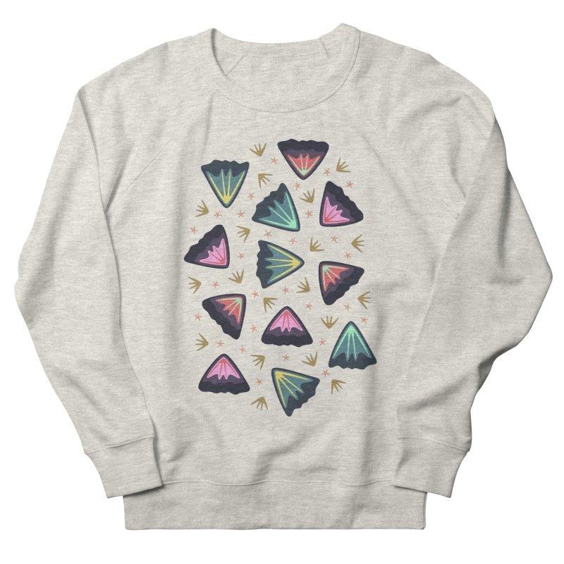 Bold Petals Men's Sweatshirt by Kira Seiler