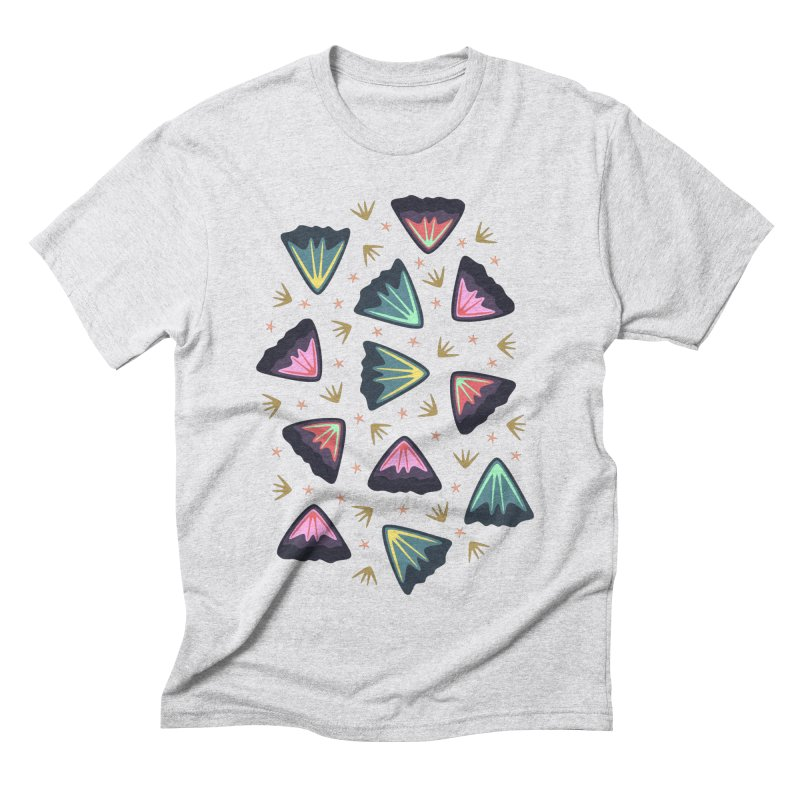 Bold Petals Men's Triblend T-shirt by Kira Seiler