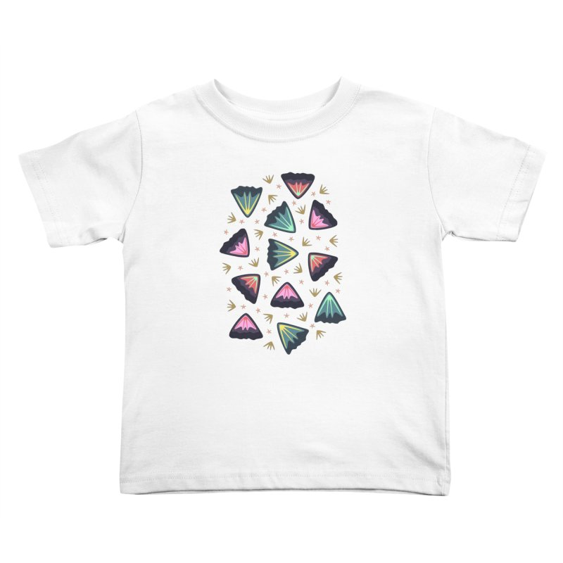 Bold Petals Kids Toddler T-Shirt by Kira Seiler