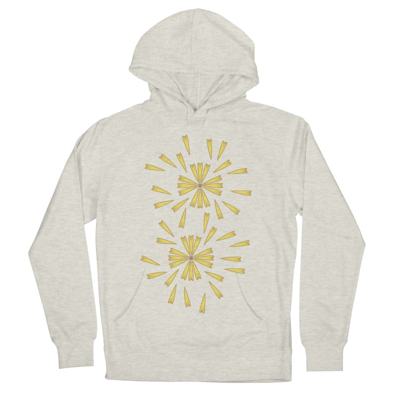 Golden Marguerite Men's Pullover Hoody by Kira Seiler