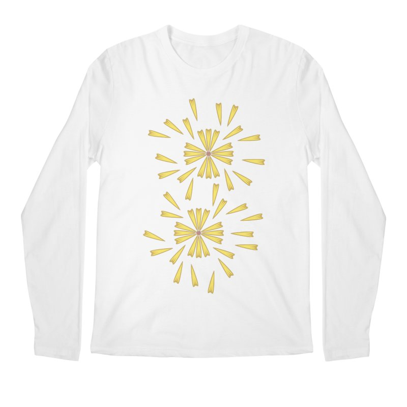 Golden Marguerite Men's Longsleeve T-Shirt by Kira Seiler