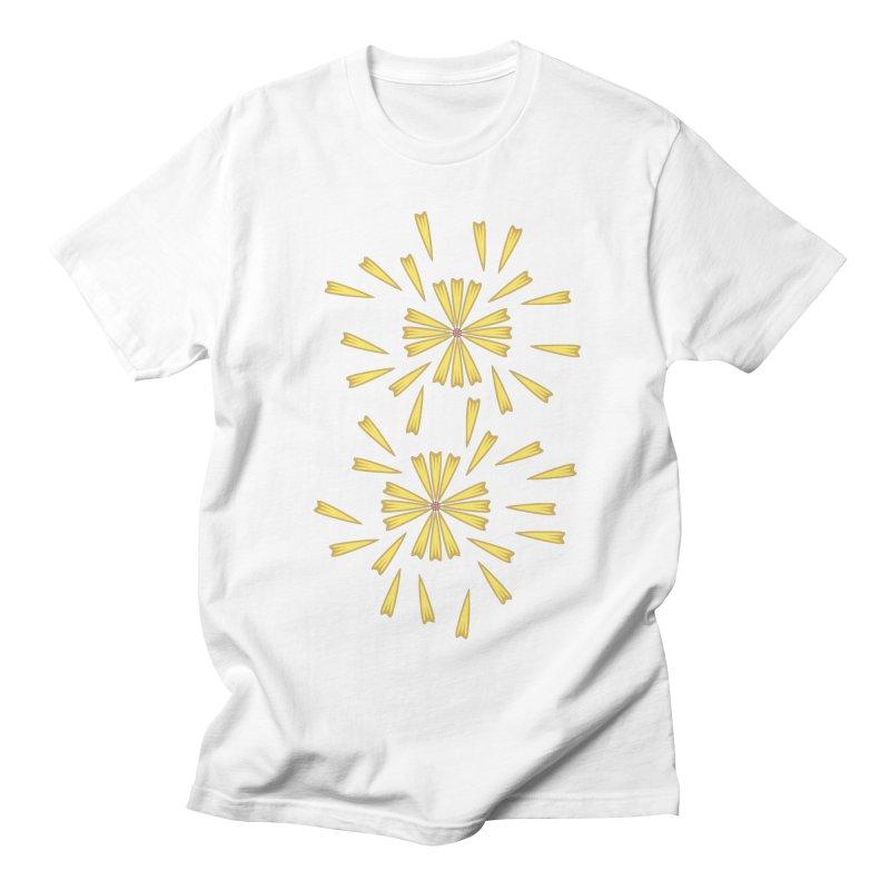 Golden Marguerite Men's T-Shirt by Kira Seiler