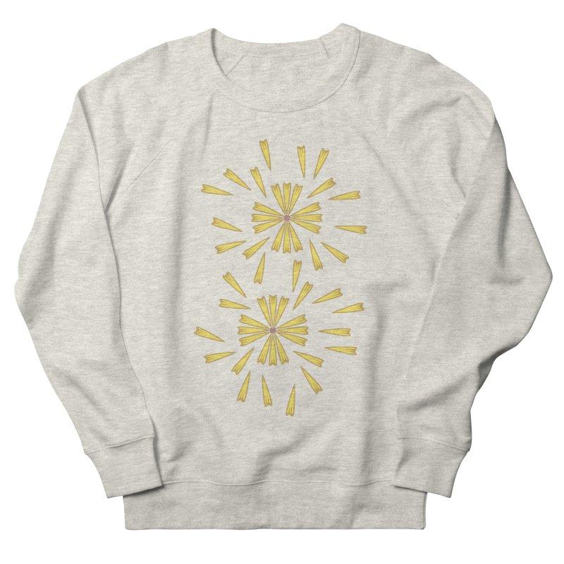 Golden Marguerite Men's Sweatshirt by Kira Seiler