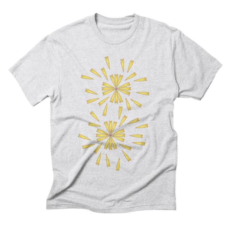 Golden Marguerite Men's Triblend T-shirt by Kira Seiler