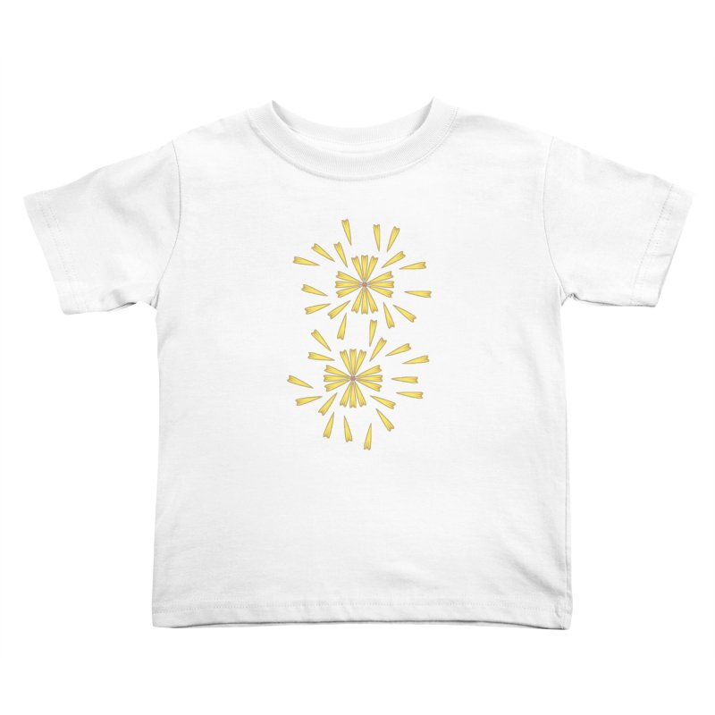 Golden Marguerite Kids Toddler T-Shirt by Kira Seiler