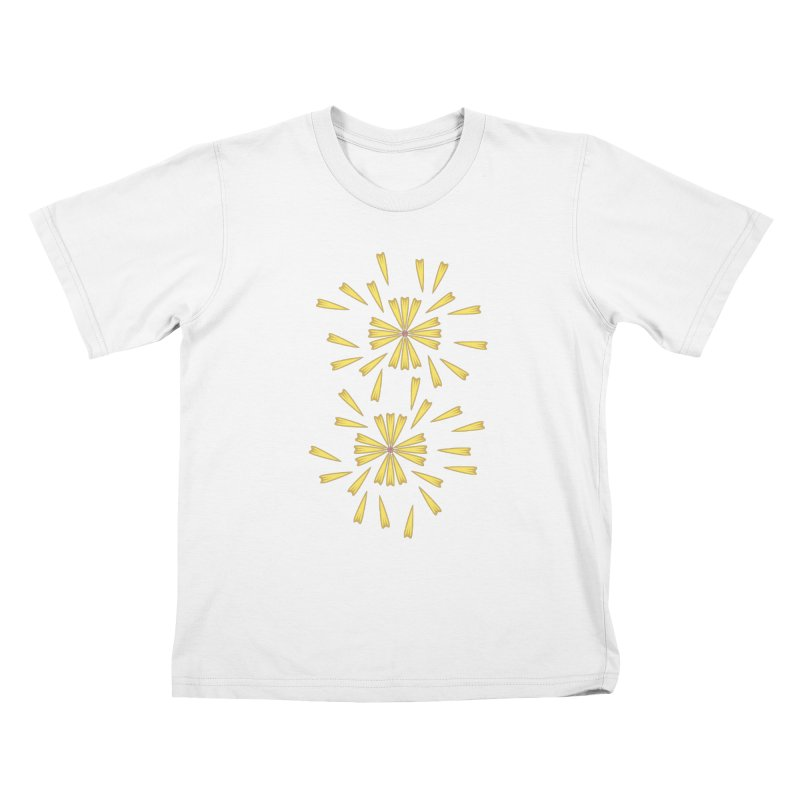 Golden Marguerite Kids T-shirt by Kira Seiler