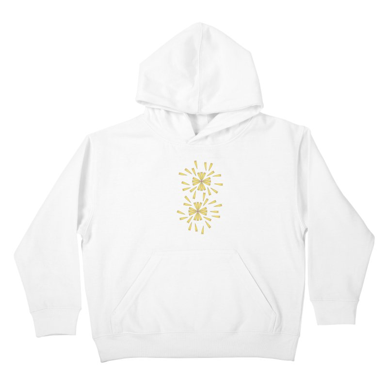 Golden Marguerite Kids Pullover Hoody by Kira Seiler