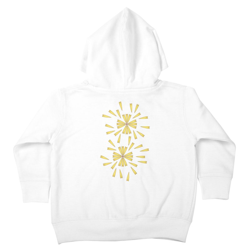Golden Marguerite Kids Toddler Zip-Up Hoody by Kira Seiler