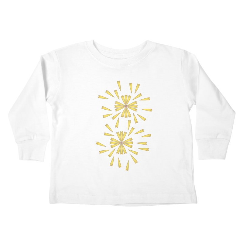 Golden Marguerite Kids Toddler Longsleeve T-Shirt by Kira Seiler