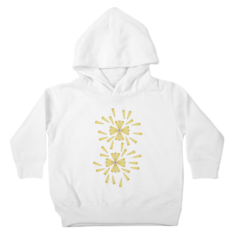 Golden Marguerite Kids Toddler Pullover Hoody by Kira Seiler