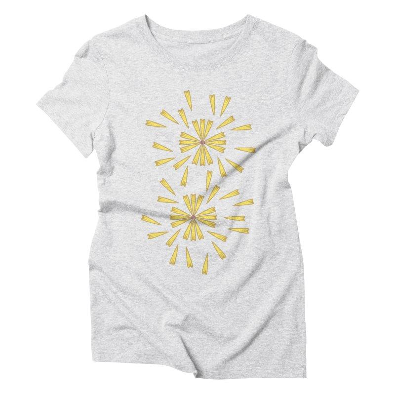 Golden Marguerite Women's Triblend T-shirt by Kira Seiler