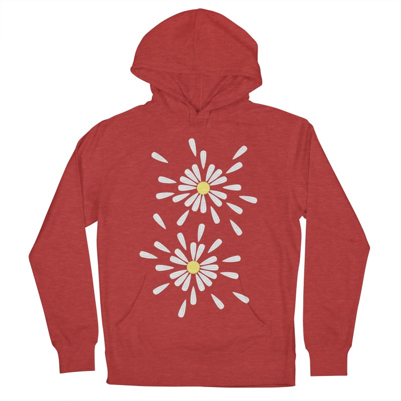 Common Daisy Men's Pullover Hoody by Kira Seiler