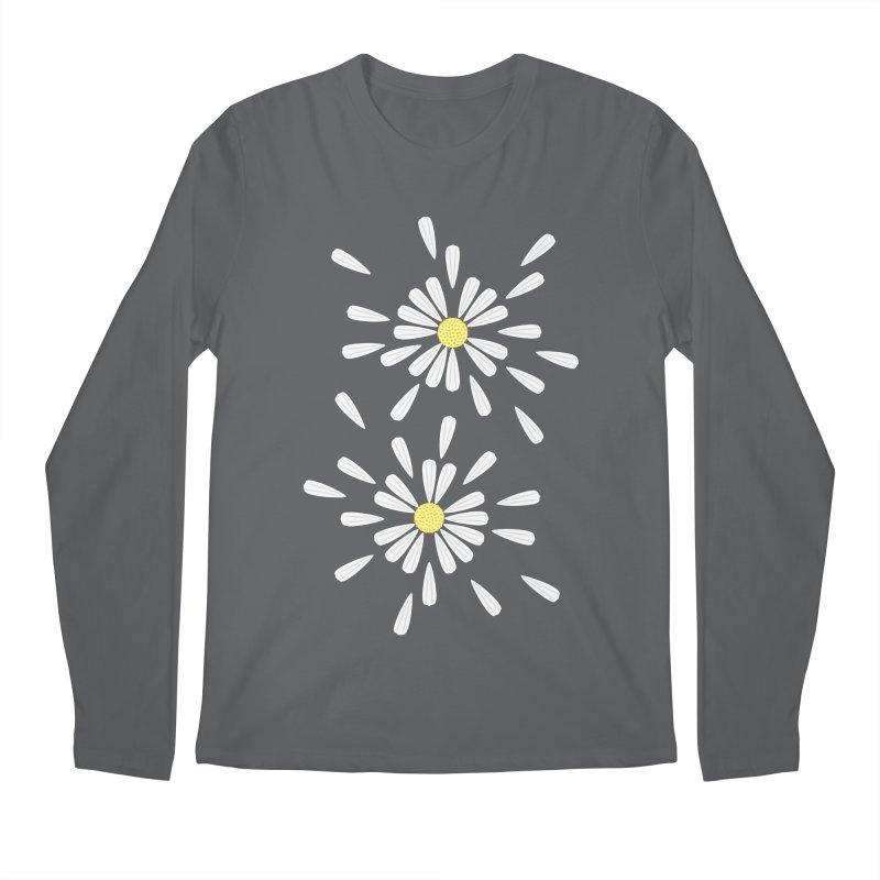 Common Daisy Men's Longsleeve T-Shirt by Kira Seiler