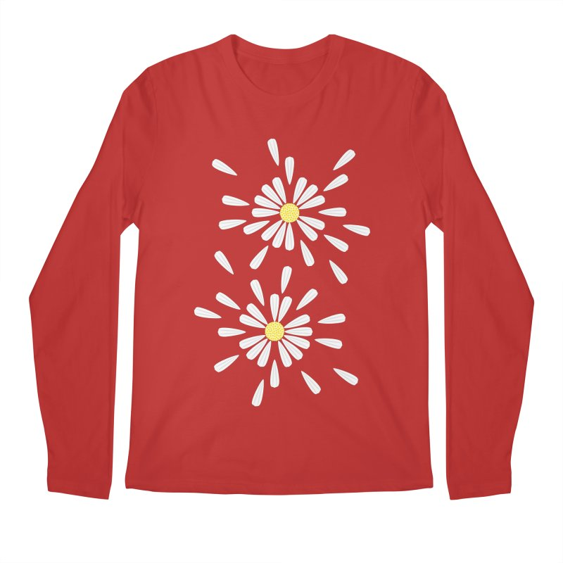 Common Daisy Men's Longsleeve T-Shirt by Kira Seiler