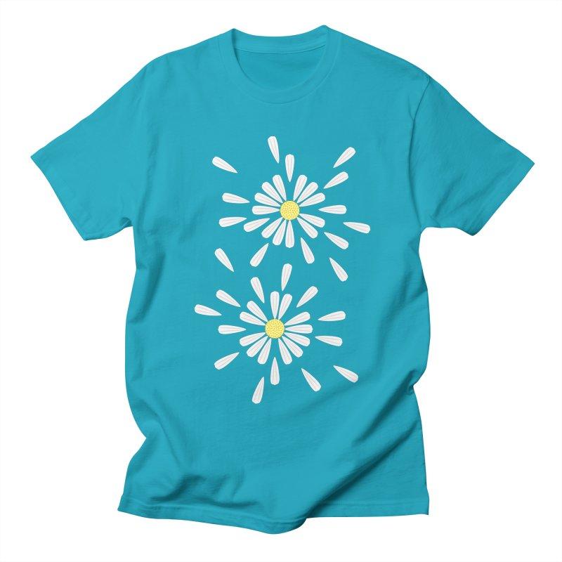 Common Daisy Men's T-shirt by Kira Seiler