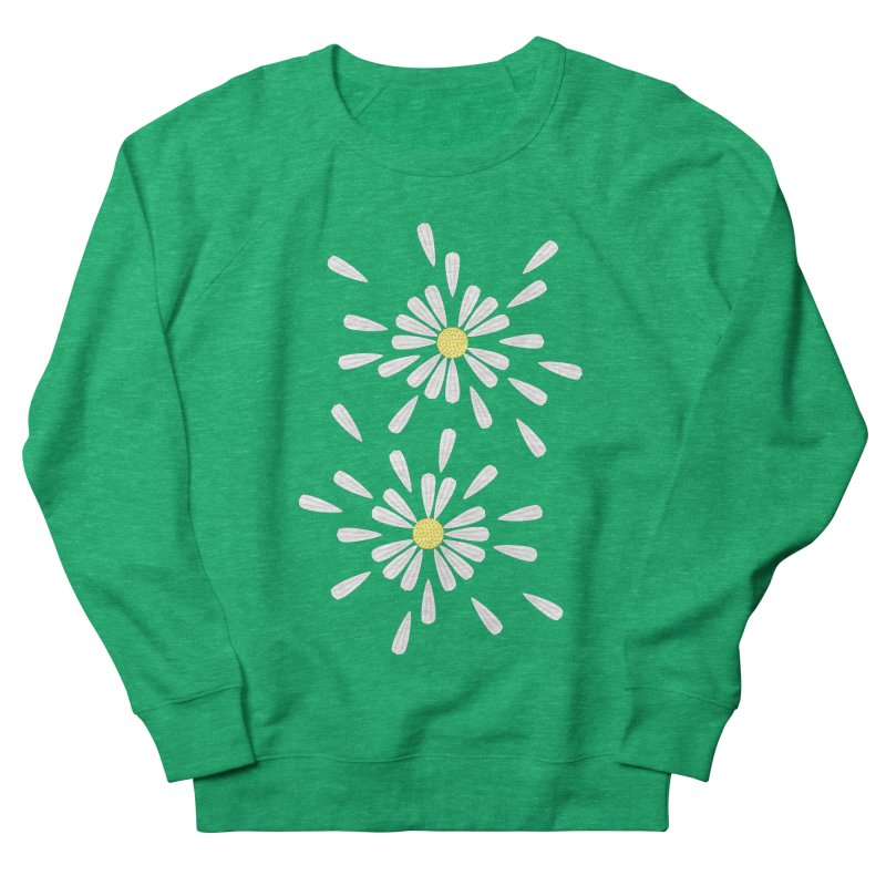 Common Daisy Men's Sweatshirt by Kira Seiler