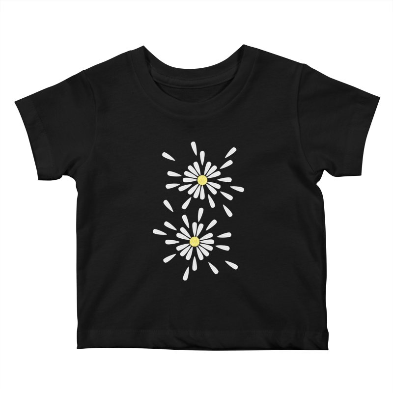 Common Daisy Kids Baby T-Shirt by Kira Seiler