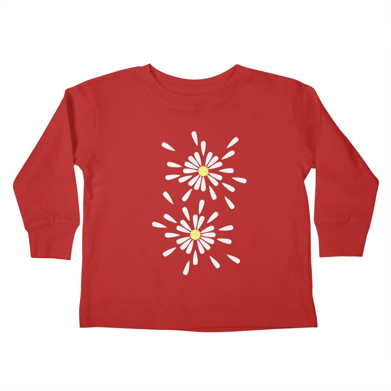 Common Daisy Kids Toddler Longsleeve T-Shirt by Kira Seiler