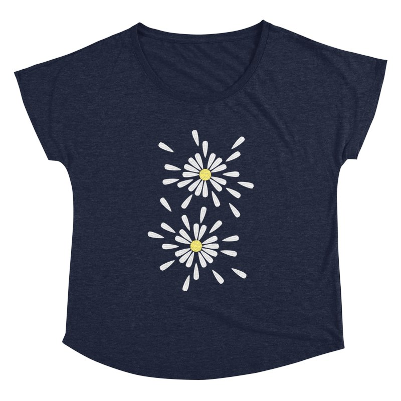 Common Daisy Women's Dolman by Kira Seiler