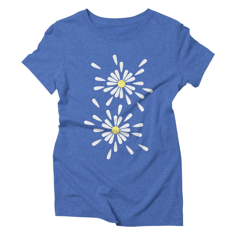 Common Daisy Women's Triblend T-shirt by Kira Seiler