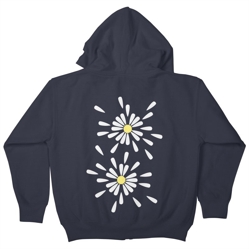 Common Daisy Kids Zip-Up Hoody by Kira Seiler