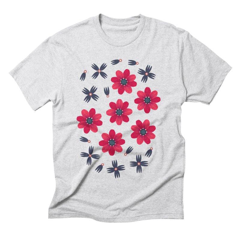 Baby Red Men's Triblend T-shirt by Kira Seiler