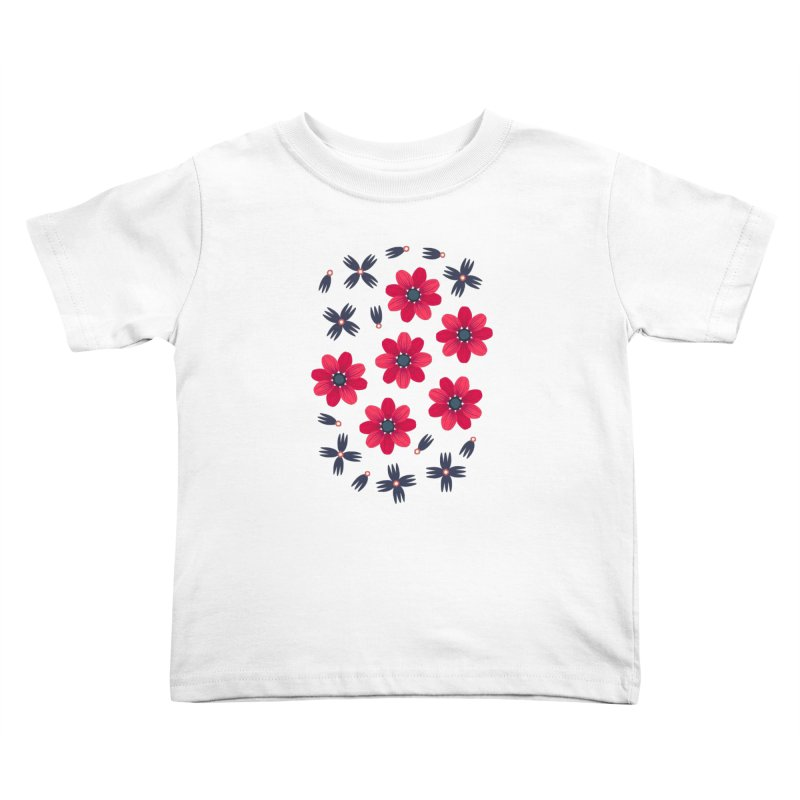 Baby Red Kids Toddler T-Shirt by Kira Seiler