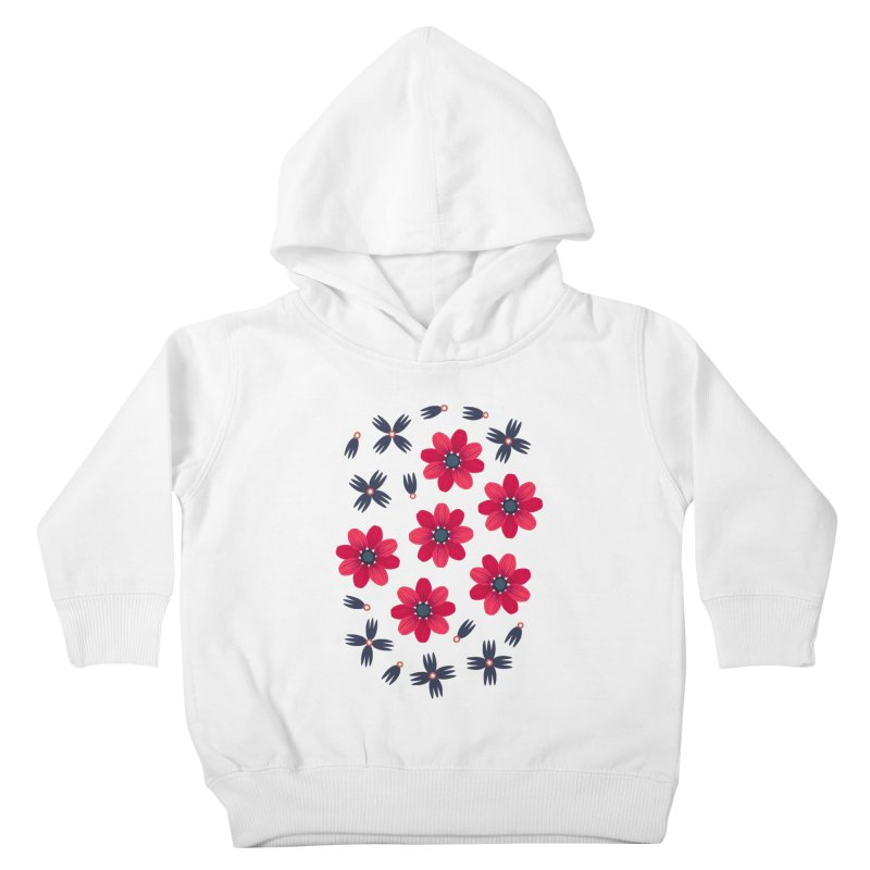 Baby Red Kids Toddler Pullover Hoody by Kira Seiler