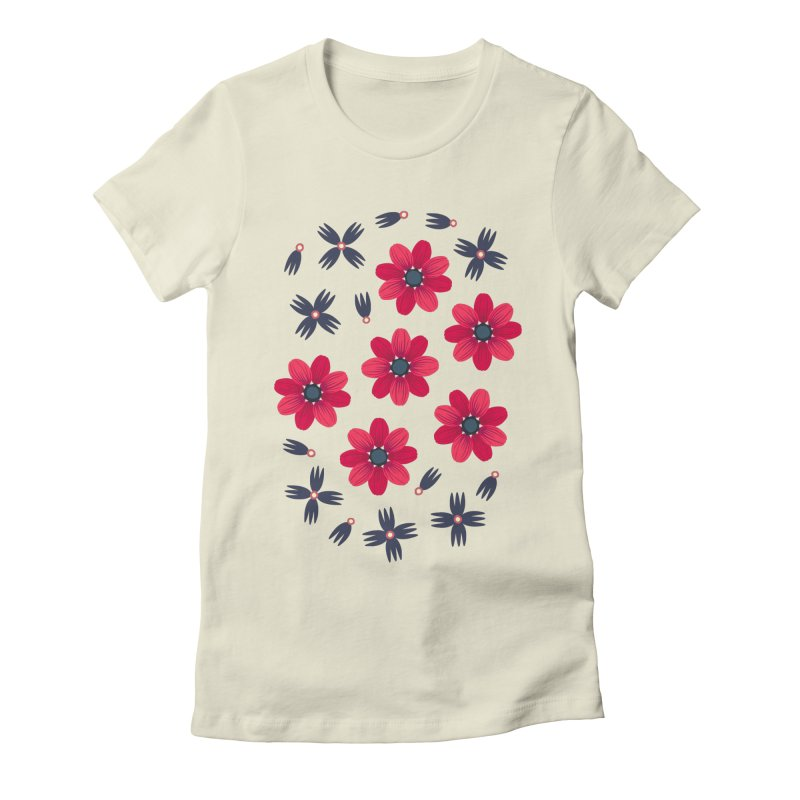 Baby Red Women's Fitted T-Shirt by Kira Seiler