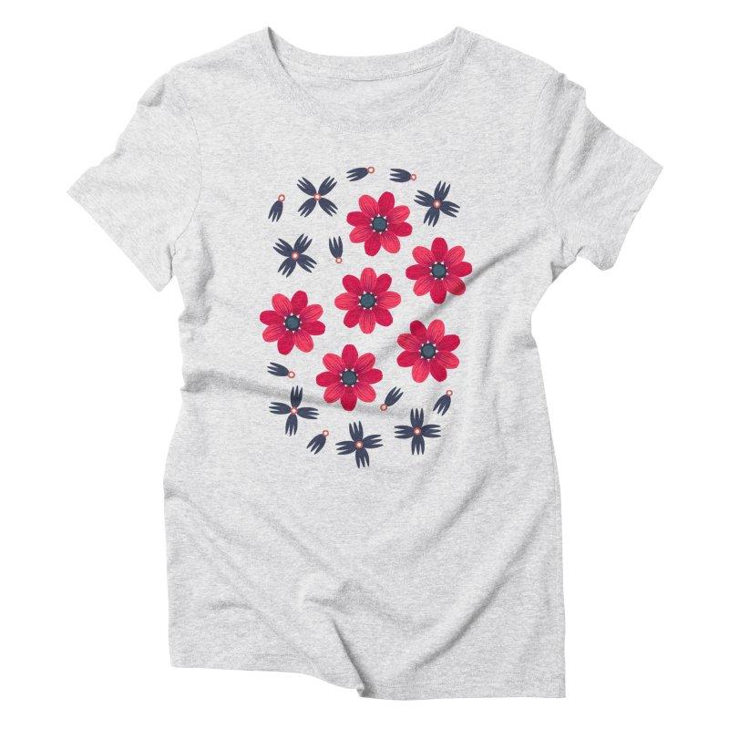 Baby Red Women's Triblend T-shirt by Kira Seiler