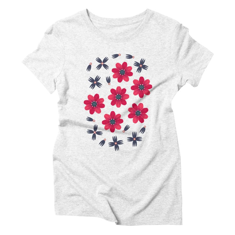 Baby Red Women's Triblend T-shirt by Kira Seiler