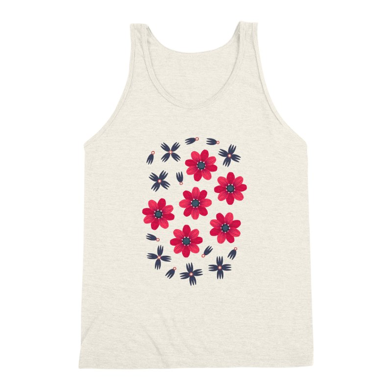Baby Red Men's Triblend Tank by Kira Seiler