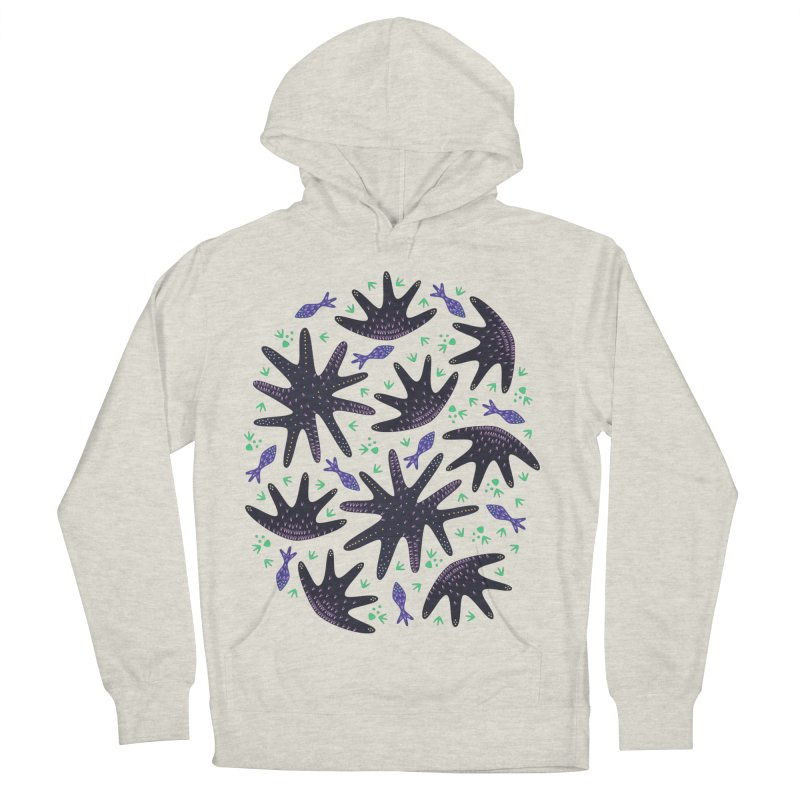 Star Fish Men's Pullover Hoody by Kira Seiler