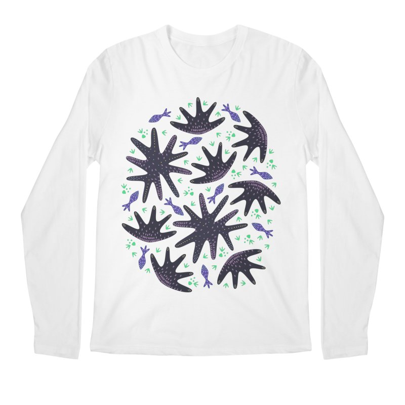 Star Fish Men's Longsleeve T-Shirt by Kira Seiler