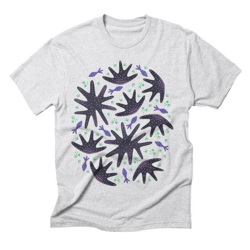 Star Fish Men's Triblend T-shirt by Kira Seiler